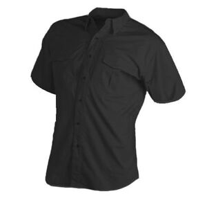 Mens Browning Black Label Tactical Short Sleeve Concealed Weapon Access Shirt