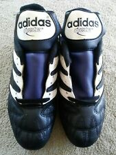 Adidas Questra Soccer Cleats white blue and black size 6 other sizes available.