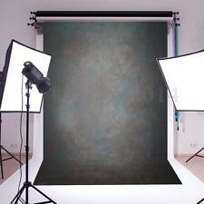 5x7FT Vinyl Black Grey Retro Studio Photo Backdrop Photography Background Props