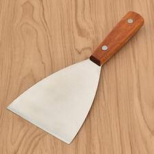 Pizzawender 1stk mit Holzgriff Bratenwender Küchenhelfer Winkelplätte Edelstahl