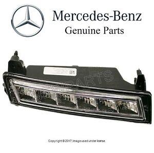 For Mercedes W164 ML X164 GL Passenger Right Bumper Daytime Running Light Lamp