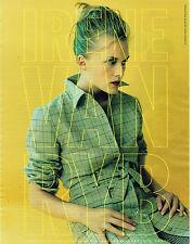 PUBLICITE ADVERTISING 124  1996  IRENE VAN RYB   haute couture