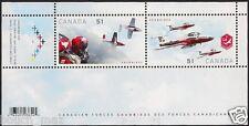 Canada Stamps - Souvenir Sheet - Canadian Forces : Snowbirds  #2159b - MNH