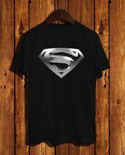 Superman Poster Logo T-shirt exclusive unisex Fashion
