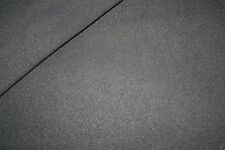 Swafing Dünner Sportfleece Fleece Stoff  schwarz 1m
