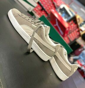 Puma Suede Classic+ Steeple Gray White Men's Sneakers 352634-66 US7~14 NEW