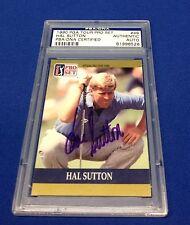 Hal Sutton Signed 1990 PGA Tour Pro Set #49 PSA/DNA # 81996526