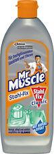 Mr Muscle® Edelstahlreiniger, Stahl-fix Classic, flüssig, Flasche