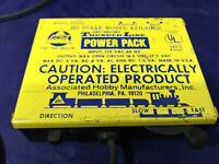 AHM Thunderline HO SCALE Train Power Pack MODEL 70203 - VINTAGE