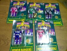 Mighty Morphin Power Rangers Figure Lot of 5 1994 Bandai New in Package