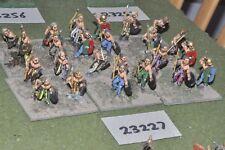 25mm roman era / gaul - warriors 24 figures - inf (23227)