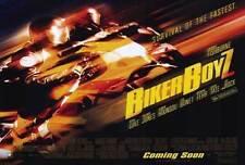 BIKER BOYZ Movie POSTER 27x40 B Laurence Fishburne Derek Luke Orlando Jones
