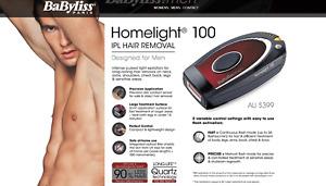 Laser for Men IPL Hair Removal Machine BaByliss Homelight 100