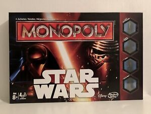 Monopoly Star Wars Disney Hasbro Gaming Parker Jeu D'occasion Mais Comme Neuf