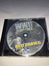 WWII ONLINE BLITZKRIEG VIRTUAL BATTLEFIELD PC CD ROM-TESTED-RARE-SHIPS  N 24 HRS