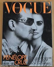 Vogue Paris ~ #907 May 2010 ~ Penelope Cruz BonoVanessa Paradis