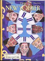 New Yorker Magazine Oct October 17 1994 Pope John Paul ll Mark Ulriksen Rwanda