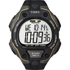 Timex T5K494, Men's Ironman Triathlon 50-Lap Resin Watch, Alarm, T5K4949J