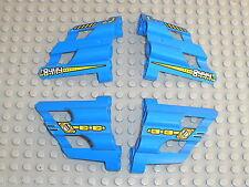 LEGO technic blue Panel Fairing 1 & 2 32190 & 32191 / set 8444 Supercopter
