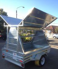 Tradesman trailer 8x5 Aluminium Top / galvanized trailer Brand New