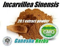 INCARVILLEA SINENSIS 20:1 CONCENTRATED EXTRACT POWDER 50g.  LEGAL PAIN KILLER