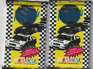 1991 Maxx Racing Cards - 2 Unopened Packs - NASCAR - Rick Hendrick