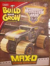 Lowe's Build and Grow Monster Jam MAX-D Wooden Kit-hottest kits on the market
