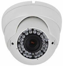 Sikker 1080P 2 Megapixel HD AHD CVI TVI Vari-focal 2.8-12mm Security Dome Camera