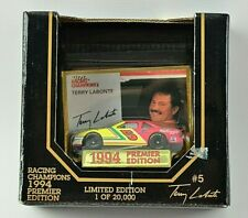 Vintage NASCAR Terry LaBonte #5 Racing Champions 1994 Premier Edition 1:64