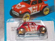 2016 Hot Wheels Red Baja Beetle Retro Style Series Target Exclusive