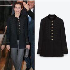 ZARA Military Samt Jacke Mantel Velvet Jacket Coat Neu Mit Etikett  Ausverkauft