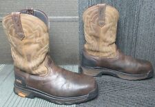 Mens ARIAT Intrepid Force Composite Toe Leather Work Boots sz 10.5 D