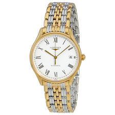 Longines Lyre White Dial Ladies Two Tone Watch L4.860.2.11.7