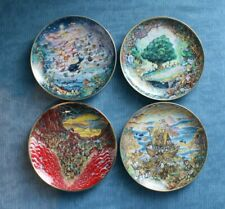 """Franklin Mint plates collection by artist Bill Bell """"Biblical Themes"""""""