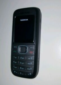 Black Nokia 1208 Mobile Phone