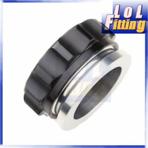 """Aluminum Weld On Filler Neck And Cap Fuel Oil Water Tank 2"""" 50.8mm ID"""