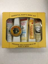Burt's Bees Essential Body Kit Gift Set Of 5 Miniatures. New In Gift Box