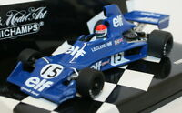 Minichamps 1/43 - 400 750115 Diecast F1 Model Car Tyrrell Ford 007 M Leclere '75