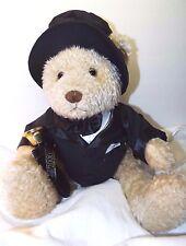 "Wellington Millennium Teddy Bear Plush Tuxedo Bell Dillards Frederick Atkins 17"""