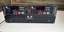 Denon dn-2000f Mk III doble CD-jugador pitchbar, profesional/dj/pa con mando de