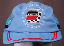 Fel-Pro, Performance Products Trucker Hat-Baby Blue-Mesh-Vintage-Hipster-Racing