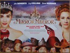 MIRROR MIRROR (2012) - original UK quad film/movie poster, Julia Roberts, comedy