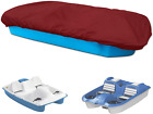 """Pedal Boat Cover, Waterproof Paddle Boat Mooring Cover - 3 or 5 Person 115"""" x80"""""""