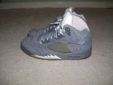 SZ 14 NIKE AIR JORDAN V 5 Retro Wolf Grey 136027-005 GRAPE Metallic Fire Red IV