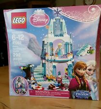 Lego Disney Princess Elsa's Sparkling Ice Castle 41062 New with minifigures