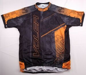 Voler Club Raglan Stretch Cycling Bike Jersey Mens Sz Medium XXL 2XL USA