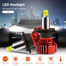 MALUOKASA 360 Degree 3D Car LED Headlight Bulbs H7 72W 16000LM 6500K White