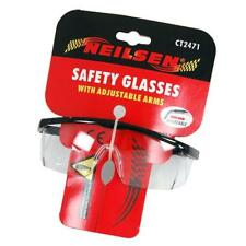 Neilsen Clear Safety Work Industrial Tool Glasses Goggles Eye Protection CT2471