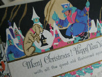 Vintage Early 1900sChristmas Greeting Card Lot - Xmas Holidays - Lot Of 15 Cards