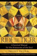 RIDE THE TIGER - EVOLA, JULIUS/ GODWIN, JOSCELYN (TRN)/ FONTANA, CONSTANCE (TRN)